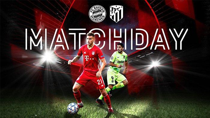 Link Live Streaming Bayern vs Atletico Madrid: Jam 02:00 WIB Dini Hari,  Head to Head dan Prediksi - Surya