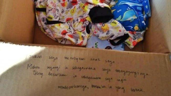 Teganya Ibu Buang Bayi di Jalan dan Area Makam, Orang Tuanya Tulis Pesan, Izinkan Saya Titipkan Anak