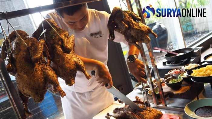Foto-foto Kuliner Bebek Panggang Bumbu Mediterania ala Hotel Java Paragon