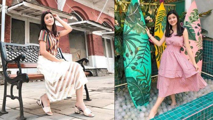 Padu Padan Busana untuk Liburan Ala Natalia Audrey : Pilih Baju yang Colorful