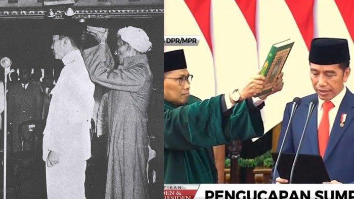 Beda Momen Pelantikan Presiden RI Mulai Soekarno hingga Jokowi, Berikut Kumpulan Foto dan Videonya