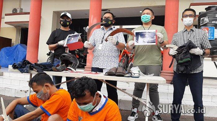 Buron Hampir Dua Tahun, Dua Begal Sadis yang Tega Celurit Korbannya Ditembak Polisi di Surabaya