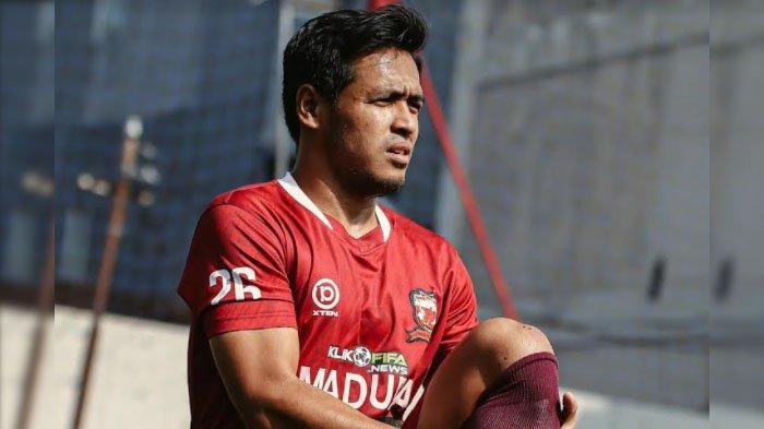 Bek Madura United Novan Setya Sasongko : Raih Hasil Maksimal Lawan PS Sleman