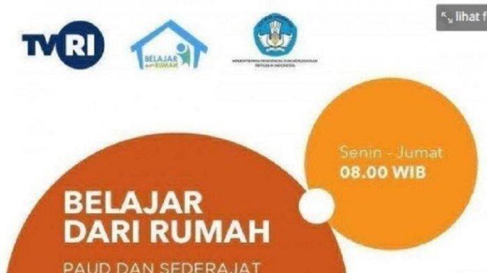 Update Soal dan Jawaban TVRI Lengkap 5 Januari 2021 SD Kelas 1, 2, 3, 4, 5, 6 Belajar dari Rumah
