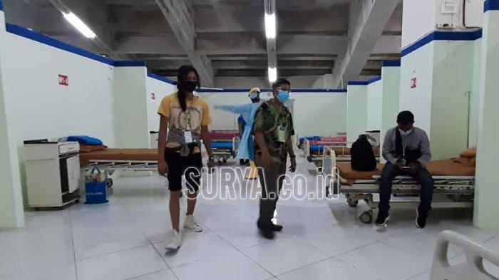 Mudik Lebaran, 11 Pekerja Migran asal Gresik Dikarantina di Stadion Gelora Joko Samudro
