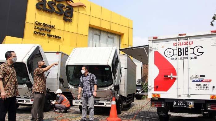Astra Isuzu Dukung Armada Logistik Siap Operasional 24 Jam