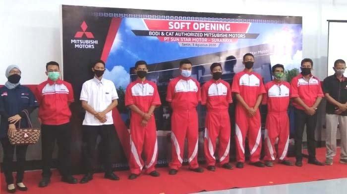 Bengkel Standar Pabrikan Mobil Mitsubishi Sun Star Motors kini Hadir di Sidoarjo