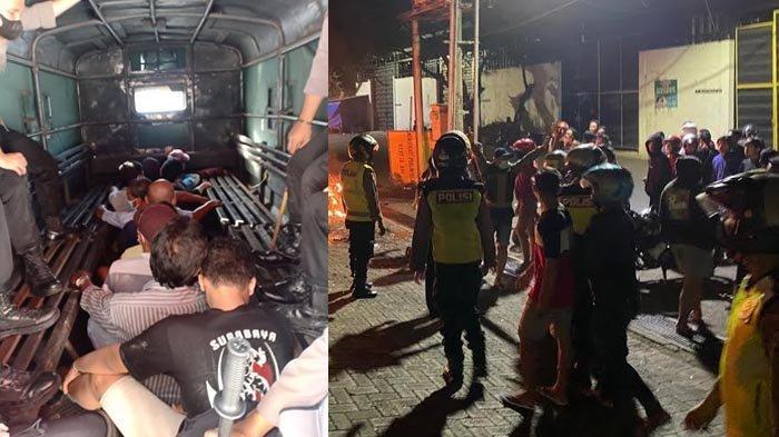 Pelaku Pembacokan Saat Peristiwa Bentrok di Ruko Buntaran Surabaya Ditangkap, Polisi Lakukan Ini