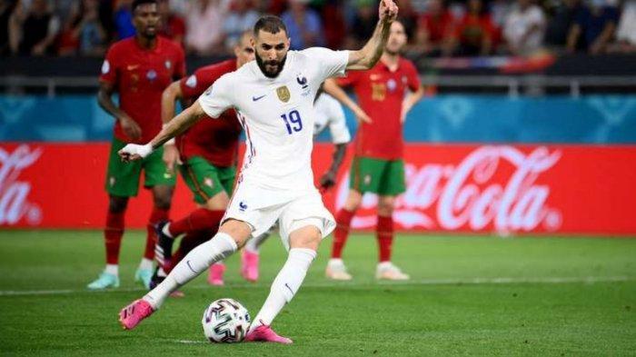 Hasil Skor Portugal vs Prancis 1-1: Drama Dua Penalti, Gol Cristiano Ronaldo Dibalas Karim Benzema