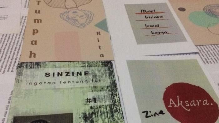 Zine Sastra Bukti Produktif Berkarya,Media Literasi Alternatif Wadah Berbagai Hasil Proses Kreatif