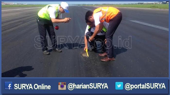 Runway Berlubang, Bandara Ngurai Rai Denpasar Ditutup Sementara