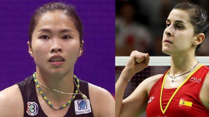 Hasil Final Indonesia Master 2020 Tunggal Putri Ratchanok Intanon Juara, Kalahkan Carolina Marin