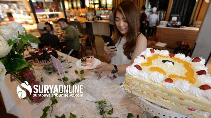 Review Food Blogger soal Kue Chantily Blossom & Dark Nougat Breadtalk di Pakuwon Mall Surabaya