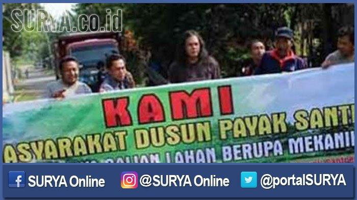 Rusak Jalan dan Cemari Sumur, Warga Ngoro Jombang Protes Tambang Galian C