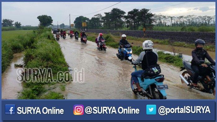 Dua Sungai Meluap, Ribuan Rumah di Dua Kecamatan Jombang Terendam