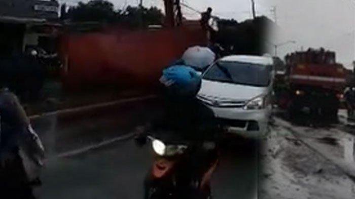 Kronologi Kecelakaan Truk Kontainer di Jalan Raya Malang Surabaya, Pasuruan