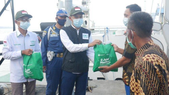 Bantu Insan Transportasi, Kompas TV dan Lazisnu Bagikan Lima Ribu Sembako dan Masker