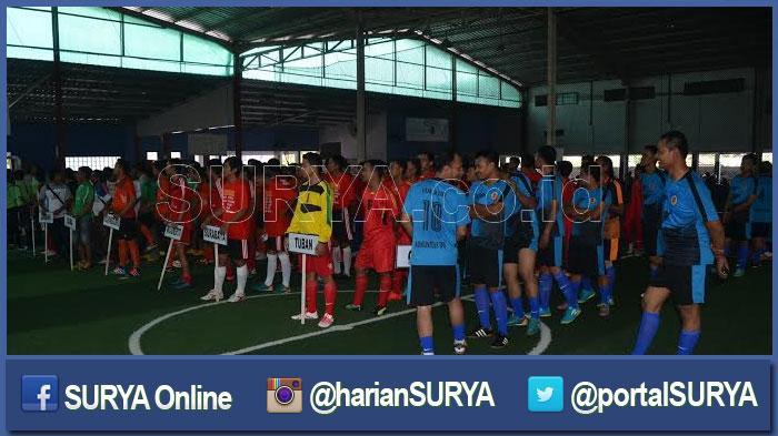 Fadeli Ingatkan Wartawan Junjung Sportifitas di Ajang JFT Bupati Cup Lamongan
