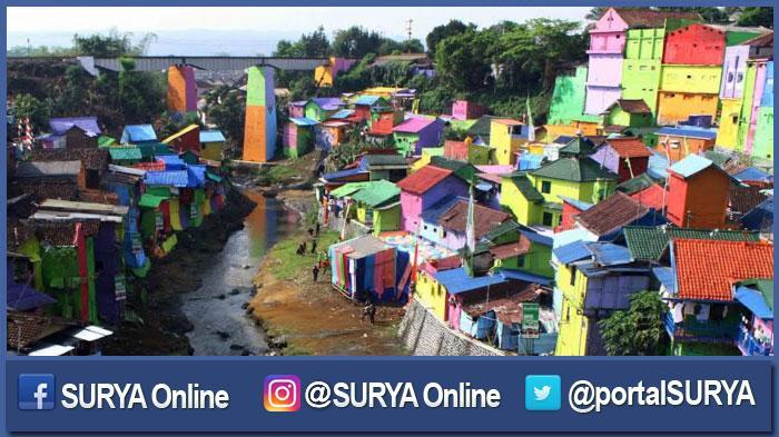 Cerita Ini yang Membuat Menteri PU Tertarik Mengunjungi Kampung Warna-Warni Kota Malang