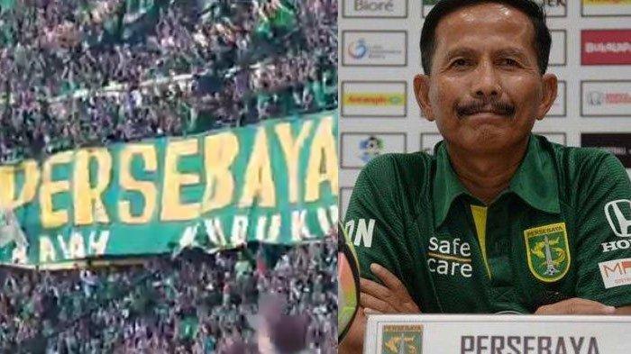 BERITA PERSEBAYA POPULER Hari ini, Potret Spanduk 'Jangan Takut Main di Malang' & Calon Pelatih Baru