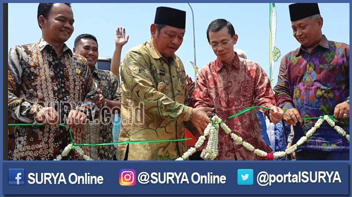 Jalan Layang Waru - Masjid Al Akbar Surabaya Rampung, Macet Bundaran Waru segera Terurai