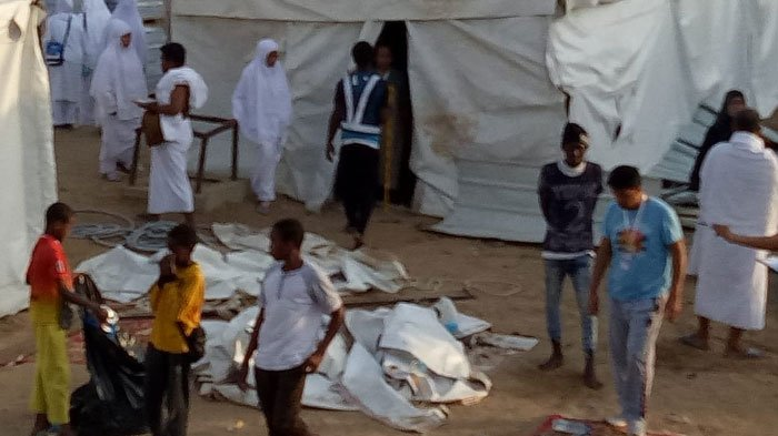 Badai Kejutkan Jemaah Haji Jelang Wukuf di Arafah, Berikut Pengakuan & Foto-foto Terbaru di Sana