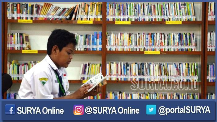 Terapkan Budaya Literasi, Siswa Bawa Buku untuk Stok Kelas
