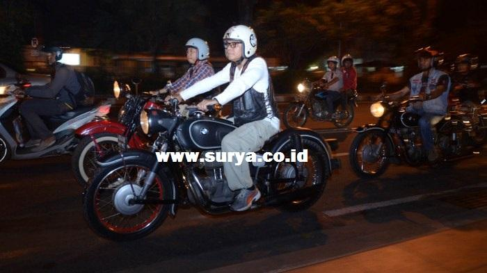 Komunitas Motor Dilarang Pakai Lampu Rotator di Jalan Raya, Ini Alasannya