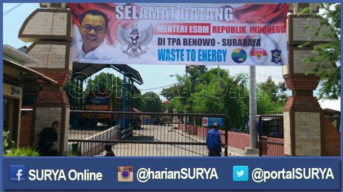Spanduk Jumbo Terlanjur Dipasang, Pak Menteri Batal Datang ke TPA Benowo Surabaya