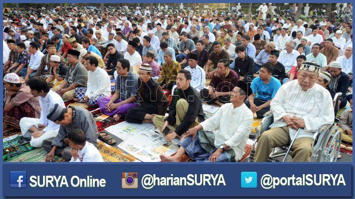 Masih Zona Oranye, Pemkot Surabaya Meniadakan Salat Id Berjamaah di Masjid atau Lapangan
