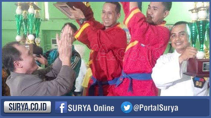 Tapak Suci Juara Umum Kejuaraan Pencak Silat Piala Wali Kota Surabaya