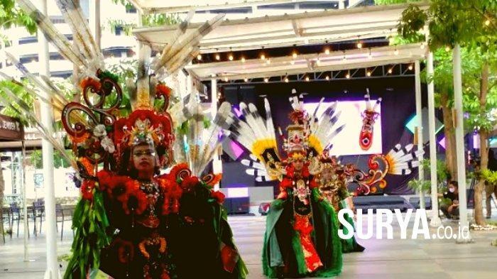 Jember Fashion Carnaval Gelar Karnaval Disiplin Protokol Kesehatan