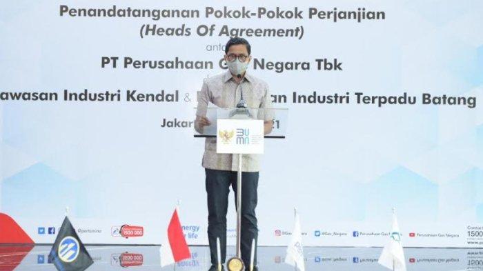 Langkah BUMN Dukung Penyediaan Gas Bumi Untuk Kawasan Industri di Jateng