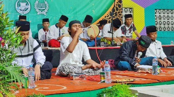 Lantunan Sholawat 350 Santri Ponpes Al-Aqobah Jombang Sambut Ramadan 2021 Penuh Berkah