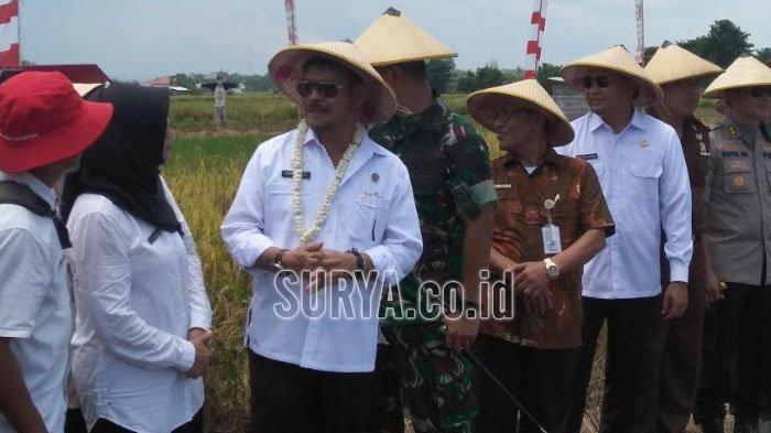 Menteri Pertanian Syahrul Yasin Limpo : Tidak akan Ada Kelangkaan Bawang Putih