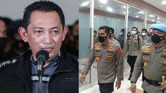 Biodata 3 Jenderal Polisi yang Antar Makalah Calon Kapolri Listyo Sigit ke DPR, Ada Kapolda Jatim