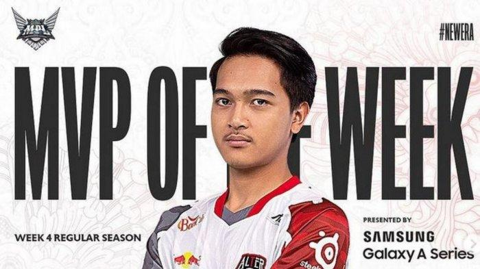 Biodata AE Nino, Rising Star Alter Ego yang Dapatkan Gelar MVP MPL Season 8 Week 4