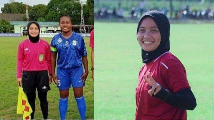 Biodata Ainun Fadillah Wasit Wanita Berhijab yang Curi Perhatian Saat Seleksi Timnas PSSI di Palu