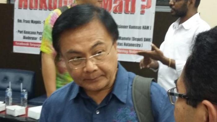Benny Mamoto Ketua Tim Investigasi TGPF yang Tangani Kasus Kebrutalan KKB Papua