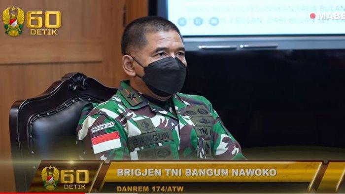 Biodata Brigjen TNI Bangun Nawoko yang Lapor Jenderal Andika Perkasa Soal Pembangunan Jalan di Papua