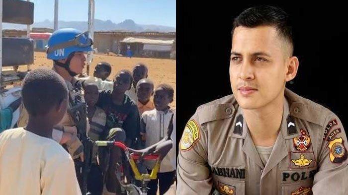 Biodata Briptu Nabhani Akbar Polisi Aceh yang Viral Ajari Anak-anak Sudan Mengaji, Pernah Juara MTQ
