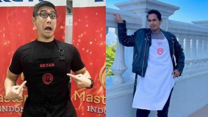Biodata Bryan dan Pak Adi, Kontestan Pria Masterchef Indonesia 8 yang Memperebutkan Posisi Top 6