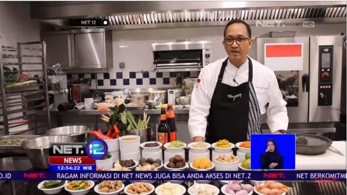 Biodata Chef Degan yang Beri Tantangan 3 Finalis Masterchef Indonesia Hari ini, Punya Cafe di Bali