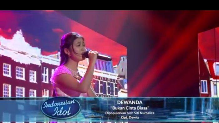 Biodata Dewanda Pratama Peserta Indonesian Idol yang Dapat Wild Card, Sempat Nyanyi OST Ikatan Cinta