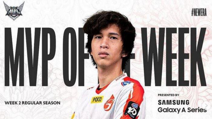 Biodata Godiva, MVP MPL Season 8 Week 2: Punya Mimpi Bawa Aura Fire Lolos Playoff