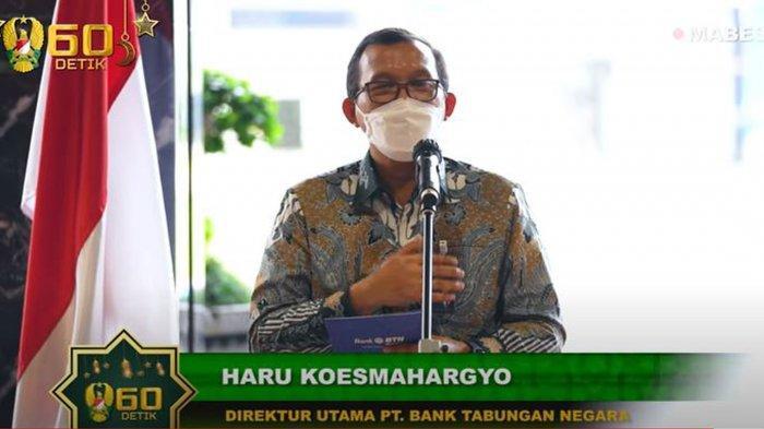Biodata Haru Koesmahargyo Dirut BTN yang Bantu Jenderal Andika Perkasa Selamatkan Uang Prajurit