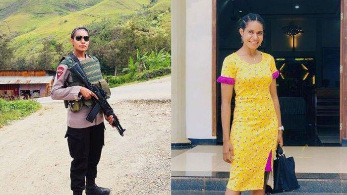 Biodata Ipda Listra Brimob Wanita yang Dikirim Hadapi KKB Papua, Penampilan Aslinya Bikin Pangling
