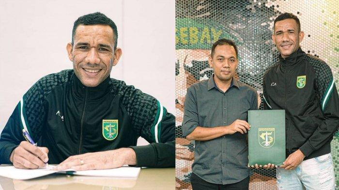 Biodata Jose Wilkson Teixeira: Striker Baru Persebaya Surabaya Asal Brasil untuk Liga 1 2021