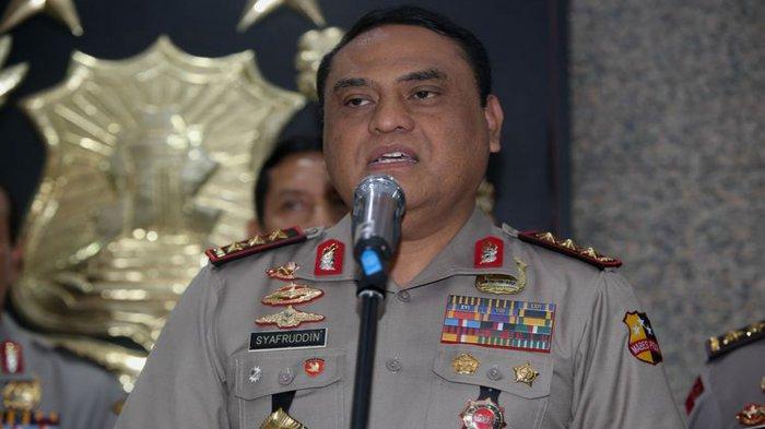 Biodata Komjen Pol Syafruddin yang Hadiri Resepsi Pernikahan Ustadz Abdul Somad, Mantan Wakapolri
