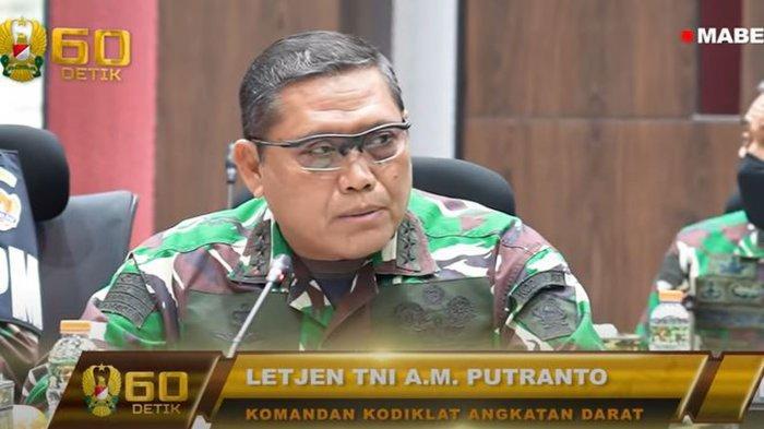 Biodata Letjen TNI AM Putranto yang Laporkan Penambahan Pasukan Amerika ke Jenderal Andika Perkasa
